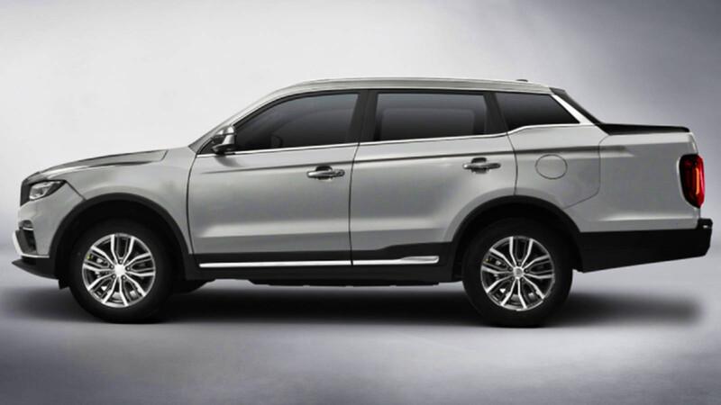 Geely Yuancheng FX, una pickup con un diseño extraño