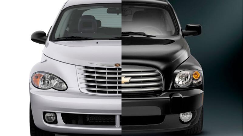 Chrysler PT Cruiser y Chevrolet HHR, más que rivales, hijos de un mismo padre