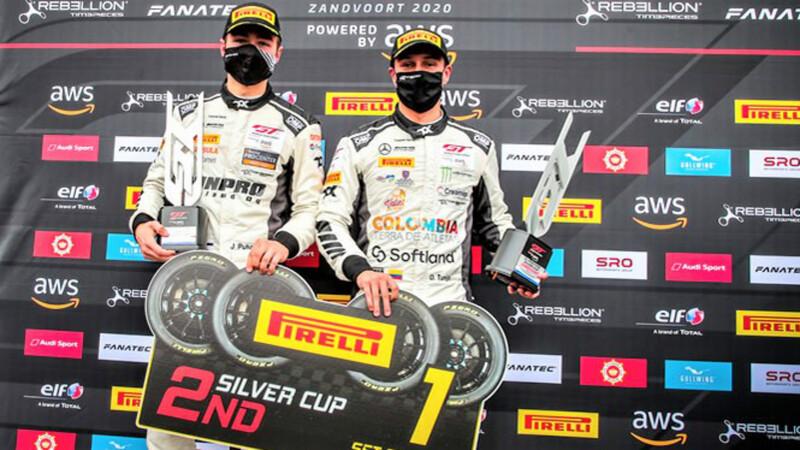 Óscar Tunjo logró podio en la segunda válida de la Silver Cup en Holanda