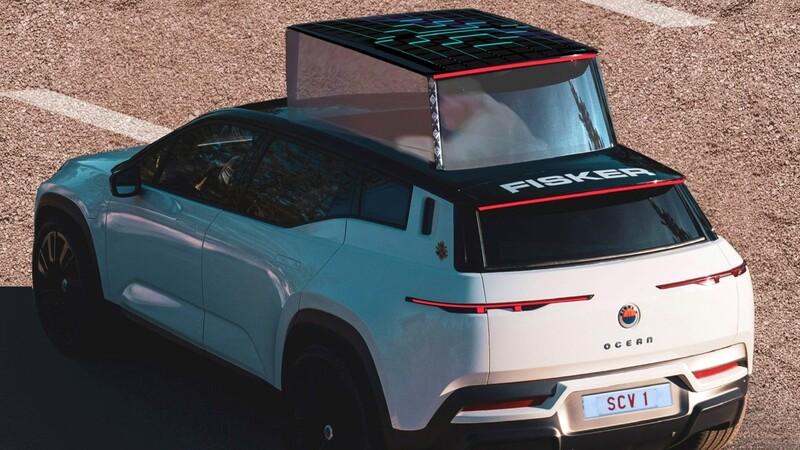 """Fisker le ofrece al Papa una versión """"Papamovil"""" de su futuro SUV eléctrico"""