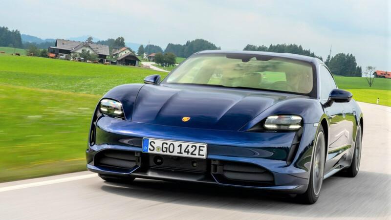Porsche Taycan ya rueda en el país