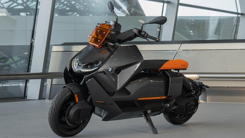 BMW Motorrad CE 04: la propuesta eléctrica alemana definitiva
