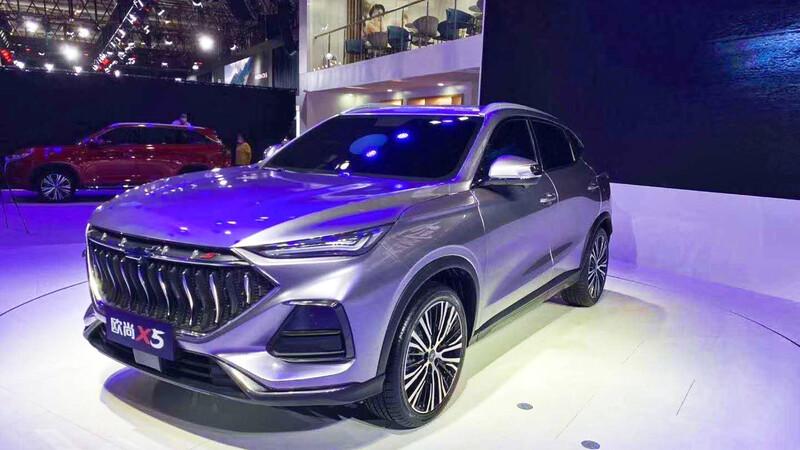 Changan Oshan X5, un nuevo SUV con líneas deportivas