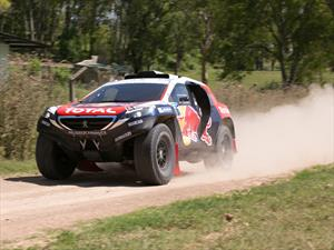 Dakar 2015: las llantas del Peugeot 2008DKR
