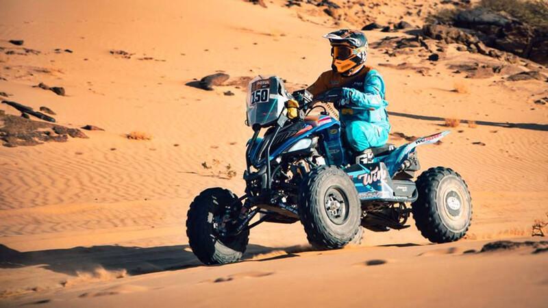 Dakar 2021 - Etapa 4: Argentina, protagonista en Quads y Motos