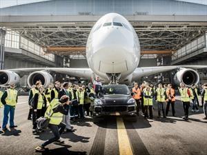 Porsche y Air France, unidos por un récord Guiness