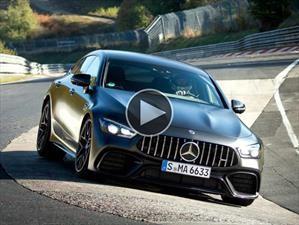 Video: Mercedes-AMG GT 63 S, las cuatro plazas más rápidas de Nürburgring