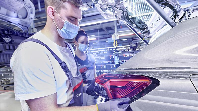 Audi Q4 e-tron empieza a producirse
