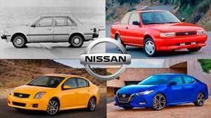 Desde el Tsuru, esta es la historia del icónico Nissan Sentra