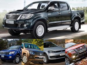 Top 5 las pick-ups más vendidas de Argentina en julio de 2015