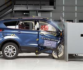 Ford Escape y Mitsubishi ASX fallan nuevas pruebas de seguridad en la IIHS