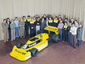 En Mónaco, Renault celebra 40 años en la Fórmula Uno