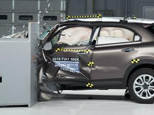 FIAT 500X 2016 obtiene el Top Safety Pick+ del IIHS