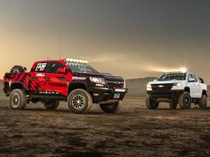 Chevrolet Colorado ZR2 AEV concept y Colorado ZR2 Race Development Truck, dos pickups superiores