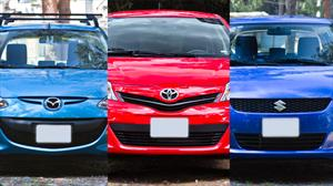 Suzuki Swift aut vs Toyota Yaris aut vs Mazda2 aut