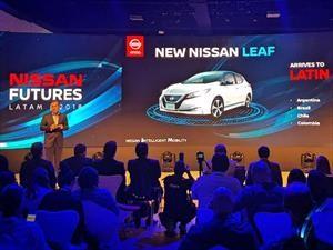 Nissan confirma que el Leaf llegará a Chile este año