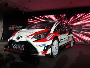 Toyota Yaris WRC 2017, el regreso al Rally Mundial