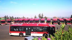 Presentan primer electrocorredor de buses en Latinoamérica
