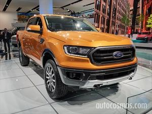 Ford presenta una nueva Ranger para EE.UU.