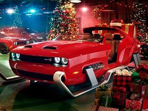 Dodge Challenger SRT Hellcat Redeye es el nuevo trineo de Santa