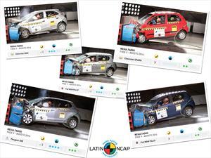 Latin NCAP castiga a Chevrolet en los resultados de la Fase V
