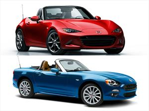 Mazda MX-5 2016 vs FIAT 124 Spider 2017