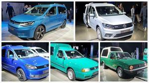 Estas son todas las generaciones del Volkswagen Caddy
