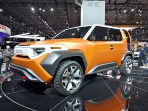 Toyota FT 4X Concept, hecho para millenials