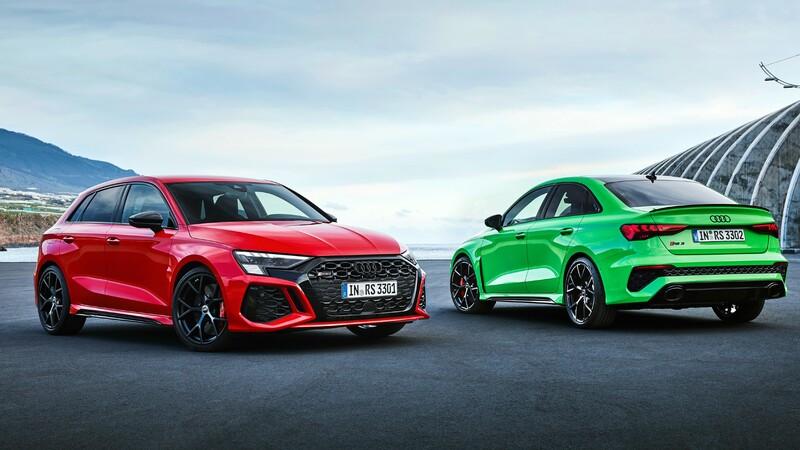 Audi RS 3 2022: más deportividad para el uso diario