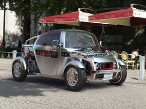 Toyota KIKAI concept, placer semidesnudo