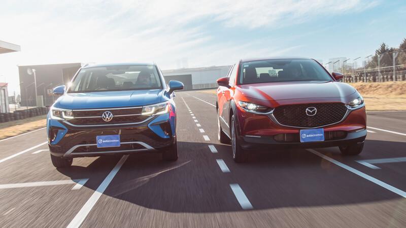 Volkswagen Taos vs Mazda CX-30, ambas son sobresalientes ¿pero cuál es mejor?