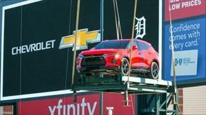 """GM retira el Chevrolet Blazer """"Hecho en México"""" exhibido en el estadio de los Detroit Tigers"""