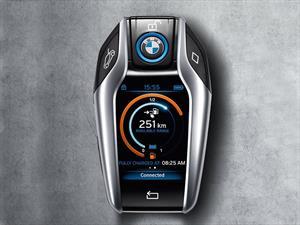 Esta es la curiosa llave del BMW i8