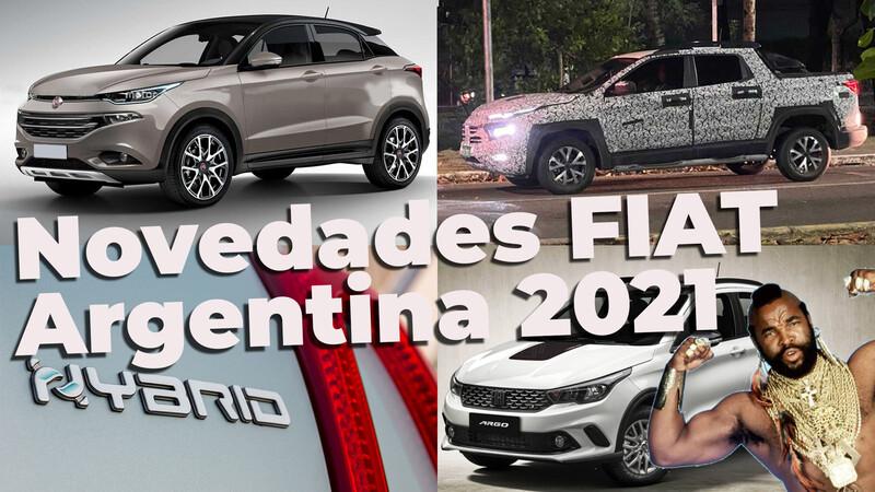 Las novedades de FIAT en Argentina para 2021