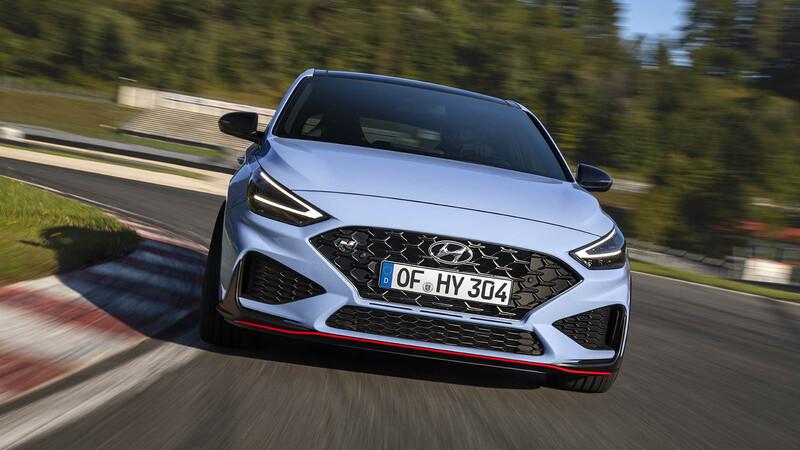 Hyundai i30 N 2021, mejorado con más tecnología y nueva transmisión