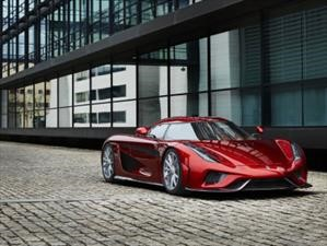 Koenigsegg Regera se somete a un crash test