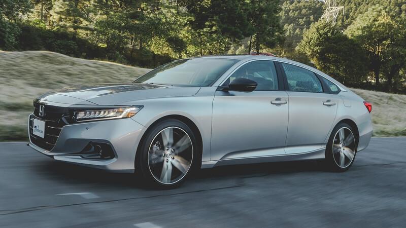 Honda Accord 2021 a prueba, con ligeros cambios estéticos