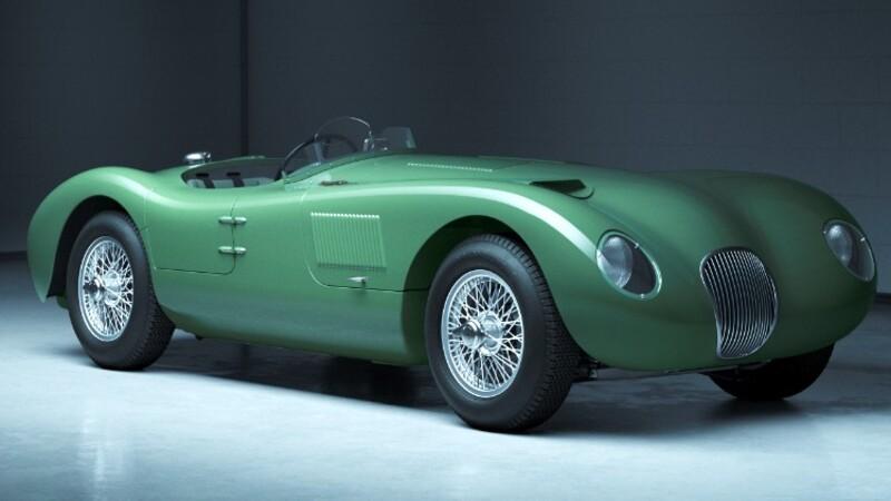 70 años después, el icónico auto de carreras C-Type de Jaguar vuelve a producirse