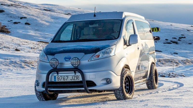 Nissan e-NV200 Winter Camper Concept, para disfrutar del invierno y la nieve