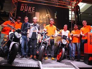 KTM Duke 250 y 390 2017 salen a la venta