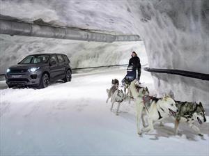 Land Rover Discovery Sport Vs. un trineo tirado por perros