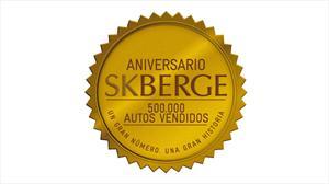 SKBergé celebra 500 mil vehículos vendidos