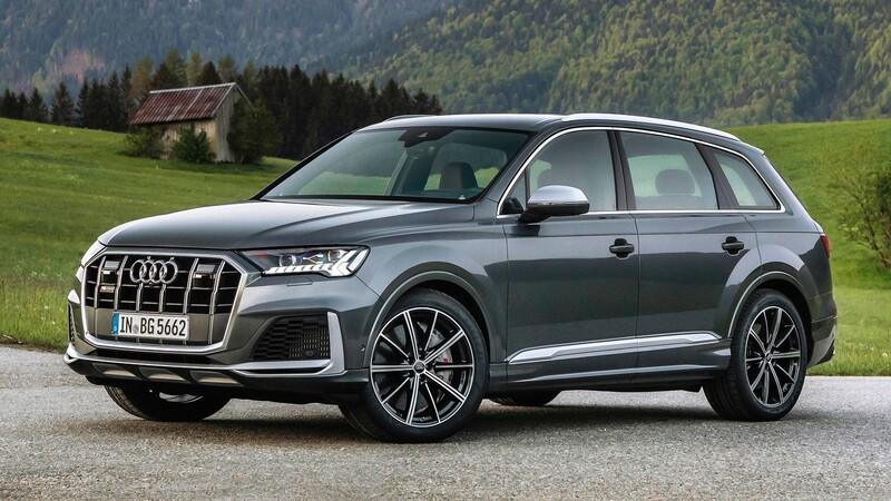 Audi lanza las versiones nafteras del SQ7 y SQ8