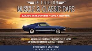 Muscle & Classic Cars celebra su edición numero 13 en Viña del Mar