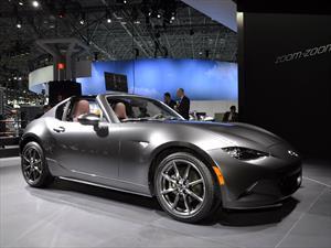 Mazda MX-5 RF, versión estelar debuta en Nueva York