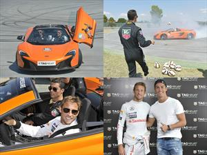 Jenson Button Vs.Cristiano Ronaldo: Drift en Jarama