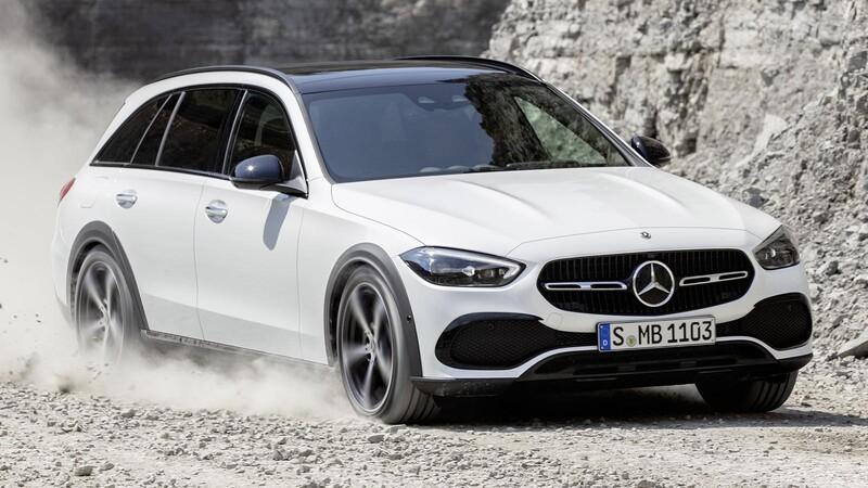 #QueVuelvanLosFamiliares Mercedes Benz Clase C All Terrain 2022