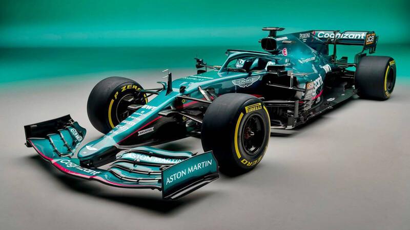 F1 2021: Aston Martin AMR21 trae el verde de regreso a la pista