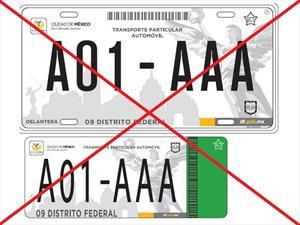 Ciudad de México tendrá nuevas placas