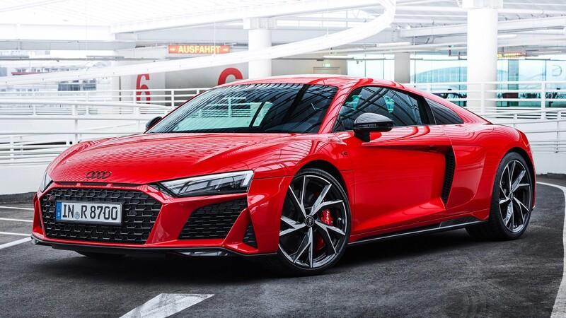 Audi R8 V10 performance RWD, más poder y tracción trasera